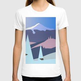 Mount Hood Wintersun T-shirt