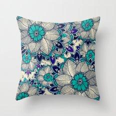 Flower hope Throw Pillow