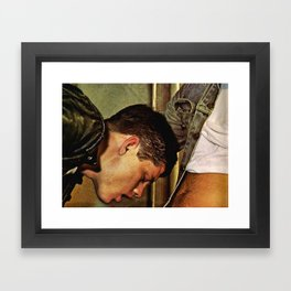 Only Friends Framed Art Print