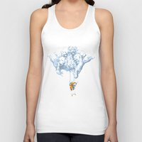 wallet Tank Tops featuring Avalanche by Aneesh vini