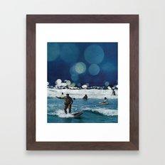 Surfers Hymn.  Framed Art Print
