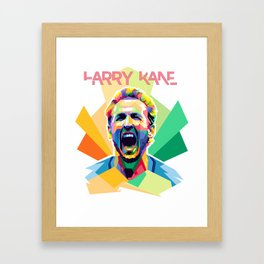 Harry Kane World Cup 2018 Edition Framed Art Print