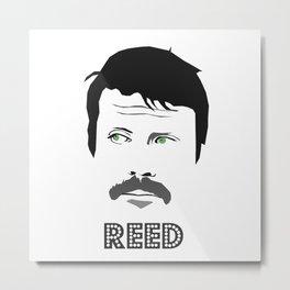 Reed Metal Print