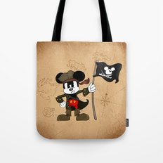 Black Ear the Pirate Tote Bag