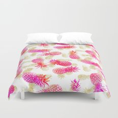 Pineapple Party Duvet Cover