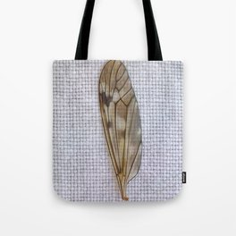 C'est folie de vouloir voler sans aile (It's crazy to want to fly without a wing) Tote Bag