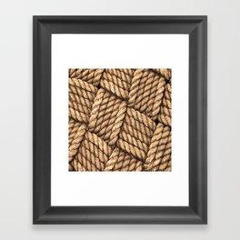 Eternal Weave Framed Art Print