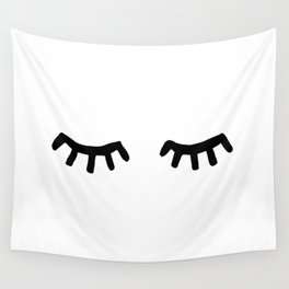 Tired Eyes Wall Tapestry