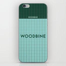 WOODBINE | Subway Station iPhone Skin