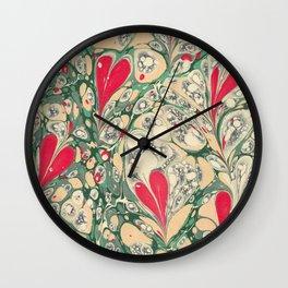 Valentine's Day, Alla hjärtans dag, Swirling harts <3 Wall Clock