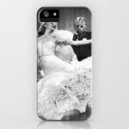 Jason Vorhees as Fred Astaire iPhone Case
