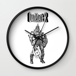 The Darkslayer, Black and White Wall Clock