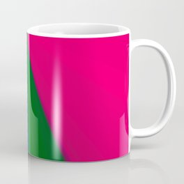 Abstract geometric pattern.Multicolored Coffee Mug