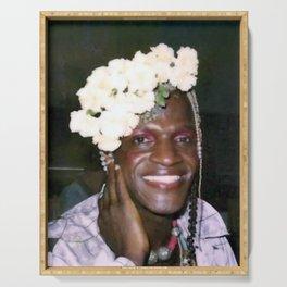 Marsha P Johnson - Black Culture - Black History Serving Tray