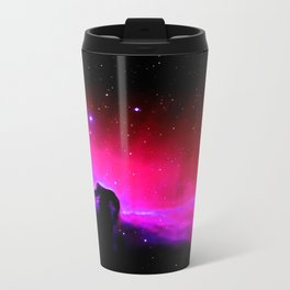 Galaxy : Horsehead nEbUlA Pink Red Purple Travel Mug