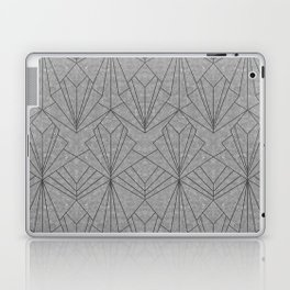 Art Deco in Black & Grey Laptop & iPad Skin