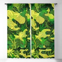 marijuana camouflage cannabis drug Blackout Curtain
