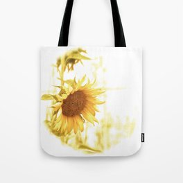 Vintage Sunflower in the Light Tote Bag
