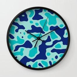 Camo 151 Wall Clock