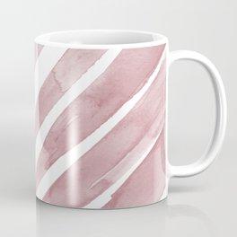 Pink Palm Leaf Crop Coffee Mug