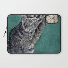 Your butt napkins my lady raccoon Laptop Sleeve