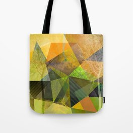 P24 Trees and Triangles Tote Bag