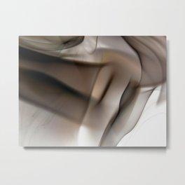 Curtain Metal Print
