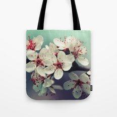 Cherry Blossom, Cherryblossom, Sakura, Vintage Style Tote Bag