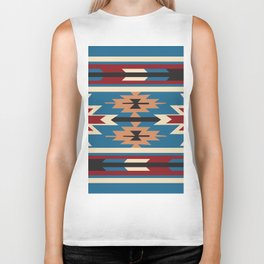 American Native Pattern No. 76 Biker Tank