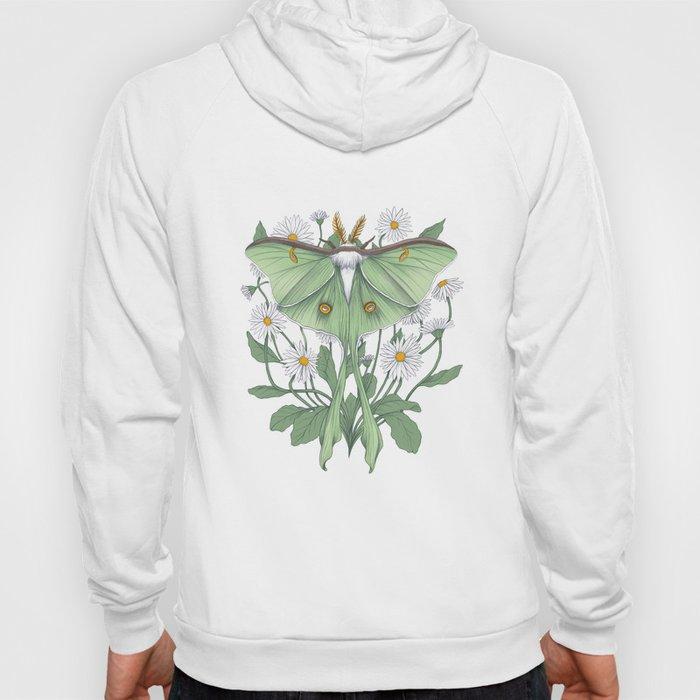 Metamorphosis - Luna Moth Hoody