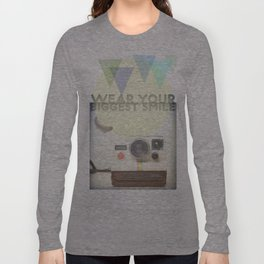WEAR YOUR BIGGEST SMILE Long Sleeve T-shirt
