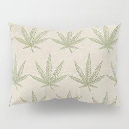 Weed Leaf Pillow Sham