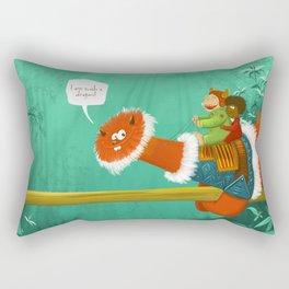 Im such a Dragon Rectangular Pillow