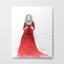 Crimson Metal Print