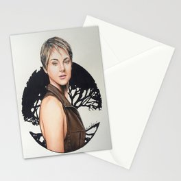 The Divergent Series: Insurgent - Tris | Drawing Stationery Cards