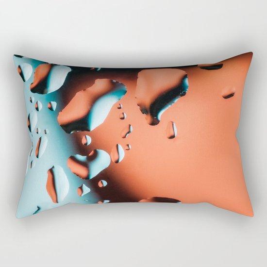 Water drops Rectangular Pillow