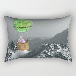 Fantasy Explores Reality Rectangular Pillow
