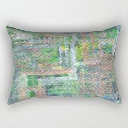 The Blue Gates Rectangular Pillow