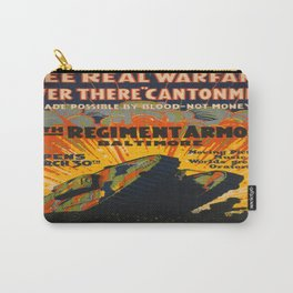 Vintage poster - Fifth Regiment Armory Carry-All Pouch
