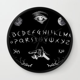 Ouija Wall Clock