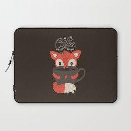 In Coffee We Trust Laptop Sleeve