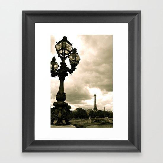 A Night In Paris Framed Art Print