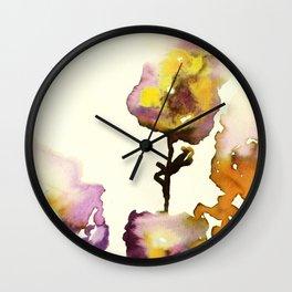 Flowers #2 Wall Clock