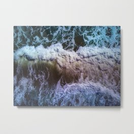 Abstracts in nature - ocean Metal Print