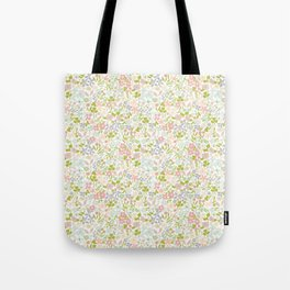 Flowery Garden Tote Bag