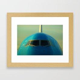 KLM Royal Dutch Airlines 747-400 Framed Art Print