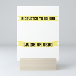 01.Labor Day is devoted to no man, living or dead, to no sect, race or nation Mini Art Print