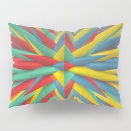 Spiked Perspective Pillow Sham