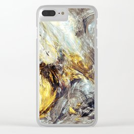 Beatiful Chaos Clear iPhone Case