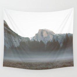 Morning Mist, Yosemite Wall Tapestry